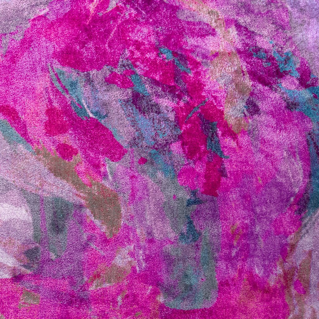 abstract artwork in pinks