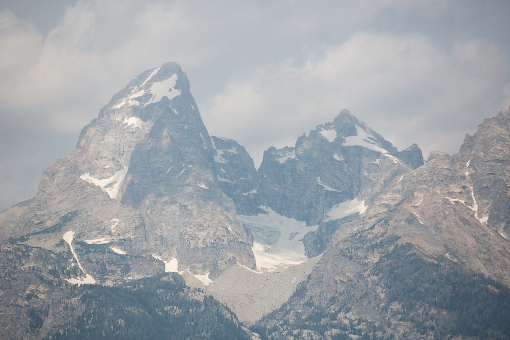 grand teton glacier view