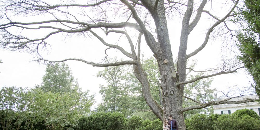 Leesburg Virginia Engagement Photographer: Allison and Andrew at Rust Manor.