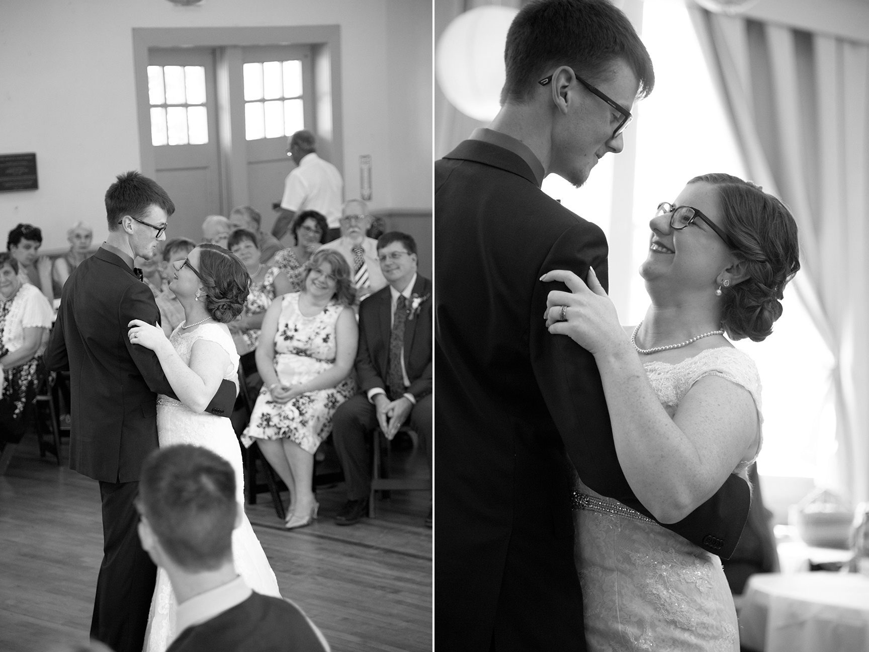 couples first dance old stone school