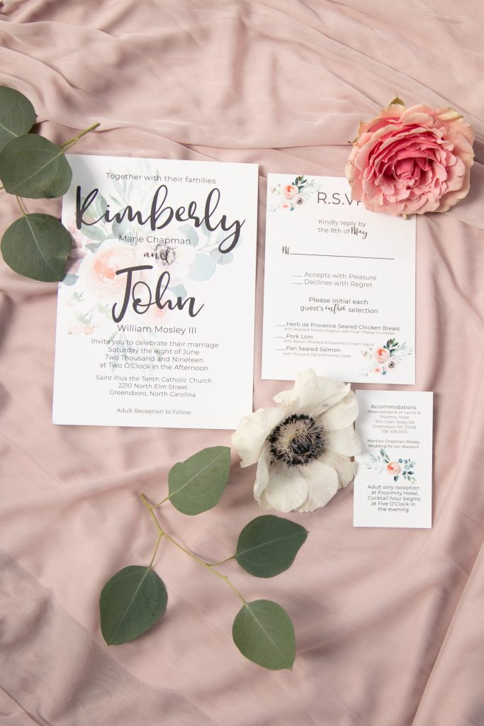 custom design wedding invitations
