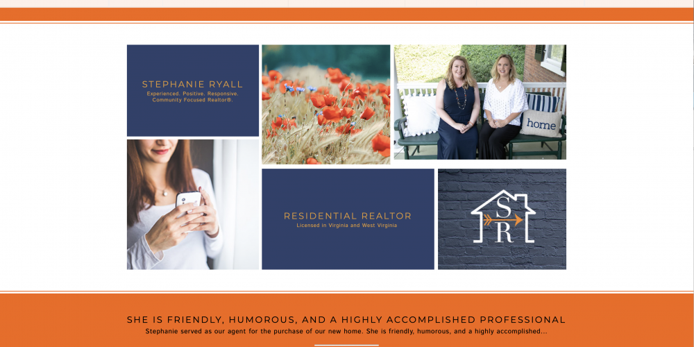 Business Branding Spotlight in Winchester Virginia: Stephanie Ryall Realtors®