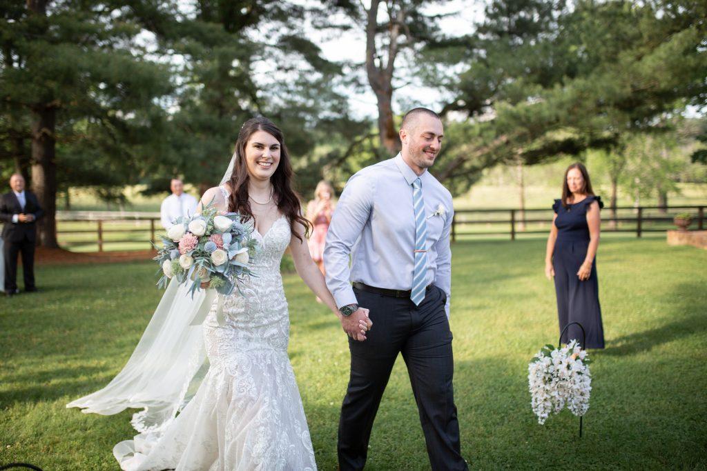 Loudoun County micro wedding ceremony