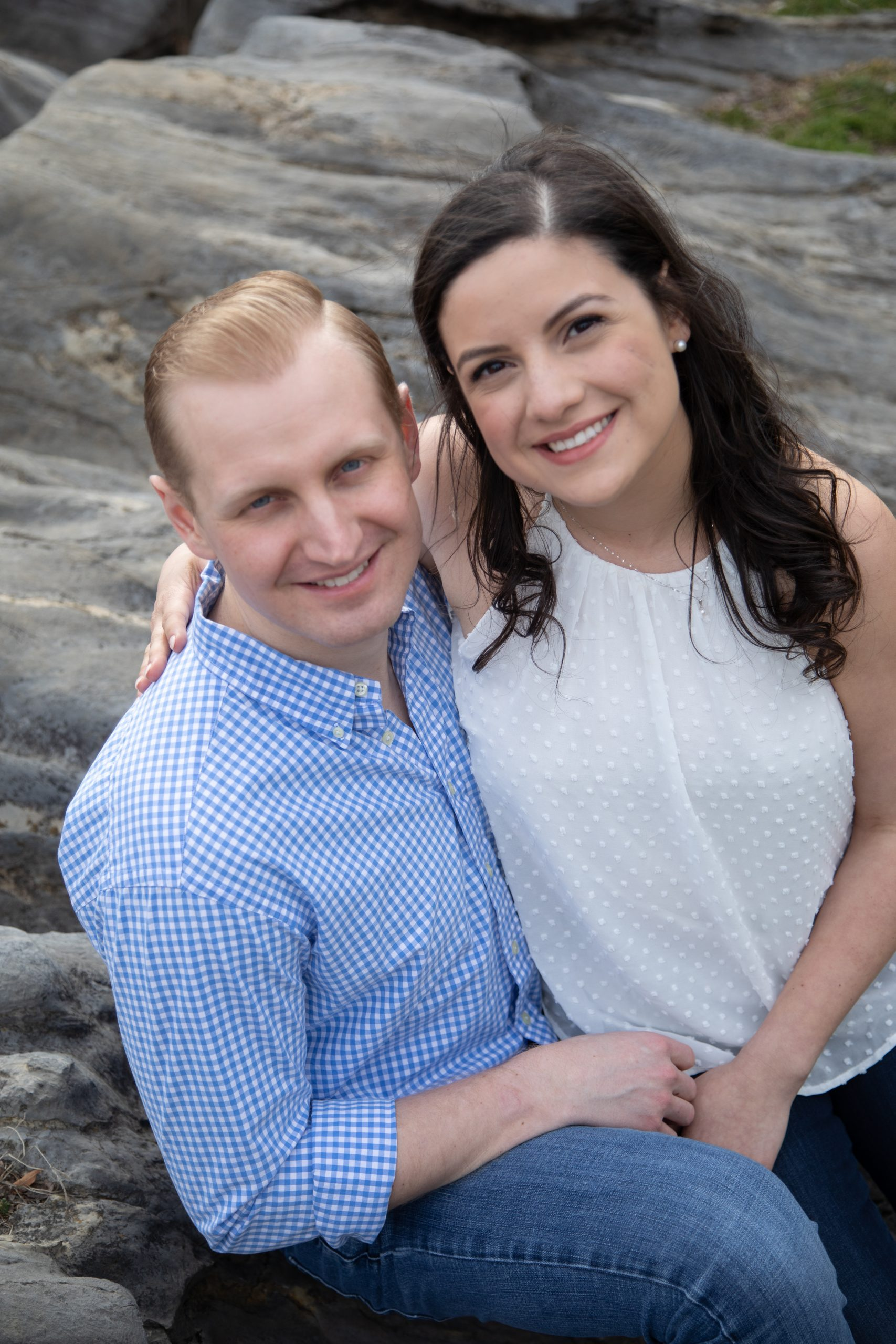 JMU engagement session. Stephanie Leigh Photography & Design