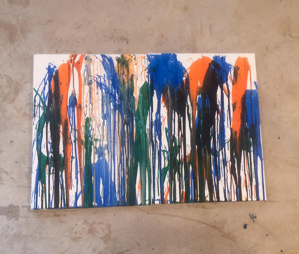Dart Painting