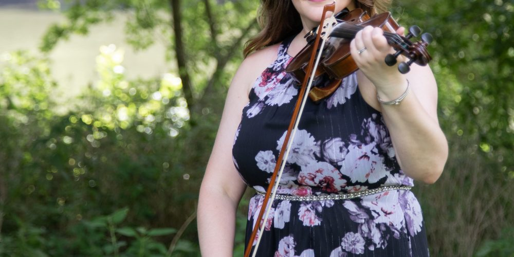Business Branding Photography: Kelsea Watson Strings, Musician Session.