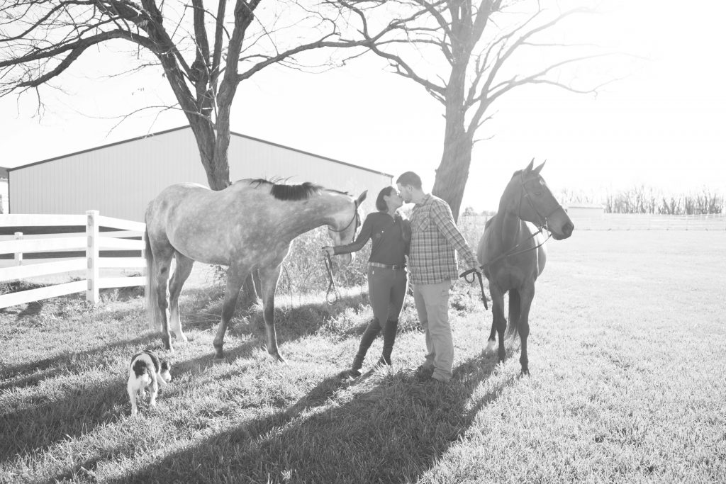 Hunt Country proposal by Stephanie Leigh photography & design