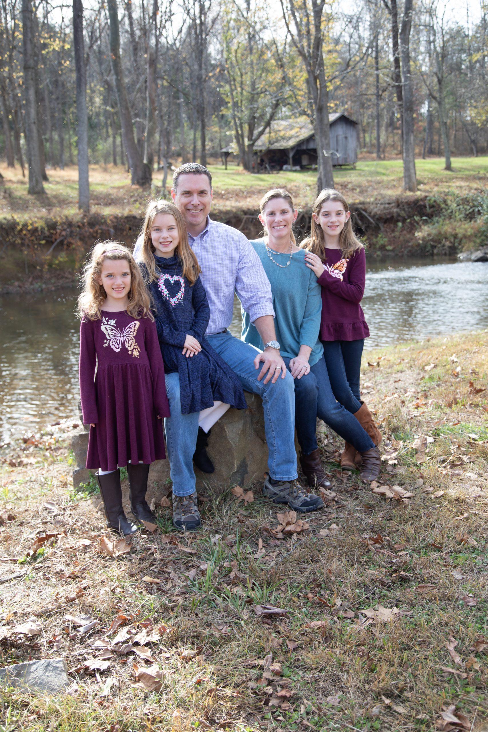 family portrait. Loudoun County photographer
