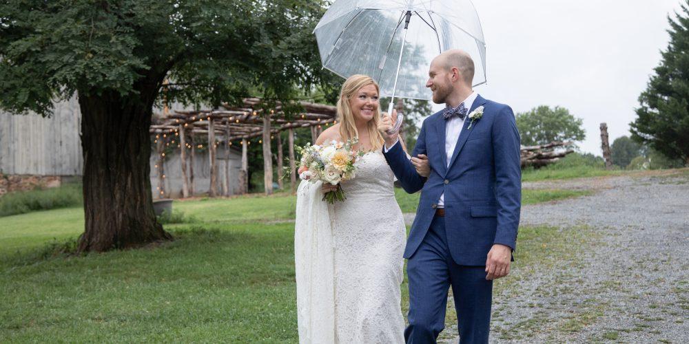 Micro Farm Wedding in Loudoun County: K+S at Ballenger Farm
